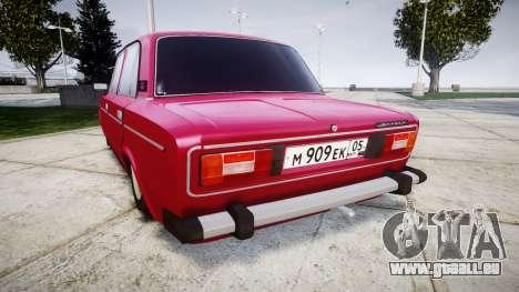 VAZ-21067 pour GTA 4 Vue arrière de la gauche