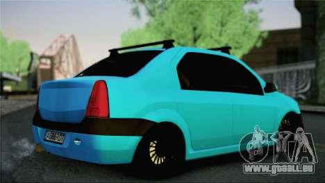 Dacia Logan Simply Clean für GTA San Andreas linke Ansicht