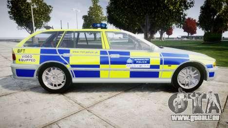 BMW 525i E39 Touring Police [ELS] BTV pour GTA 4 est une gauche