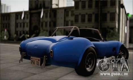 Shelby Cobra V10 TT Black Revel für GTA San Andreas linke Ansicht