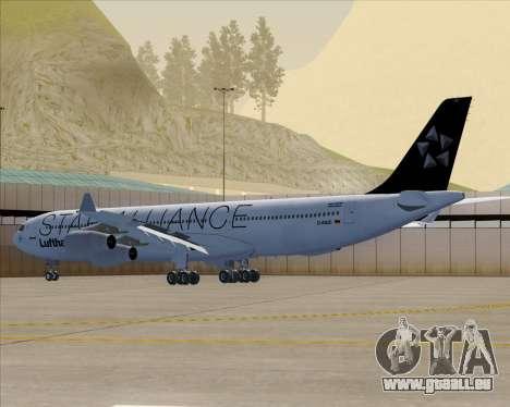 Airbus A340-300 Lufthansa (Star Alliance Livery) pour GTA San Andreas