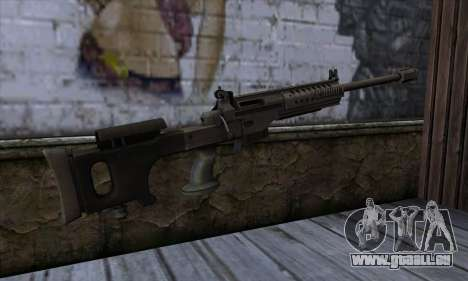 JNG-90 pour GTA San Andreas deuxième écran