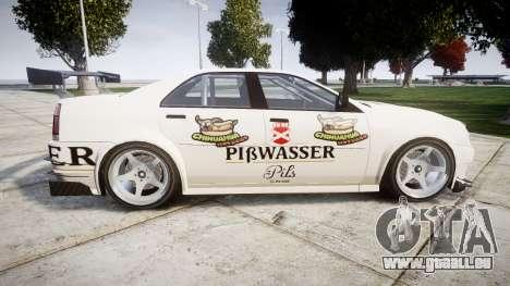 Albany Presidente Racer [retexture] Pibwasser für GTA 4 linke Ansicht