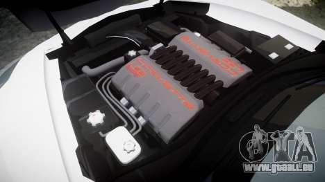 Chevrolet Corvette Z06 2015 TireMi4 pour GTA 4 est un côté