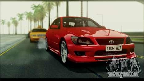 ENB Rujac pour ordinateurs faibles pour GTA San Andreas deuxième écran