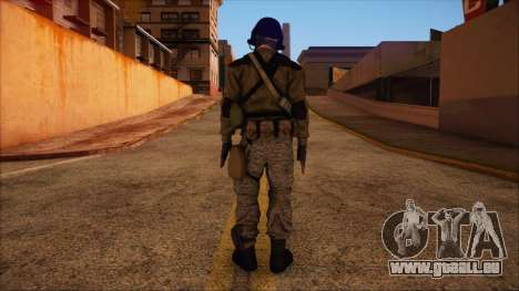 Recon from Battlefield 3 für GTA San Andreas zweiten Screenshot