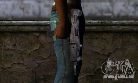 Uzi из Call of Duty-Black Ops für GTA San Andreas dritten Screenshot
