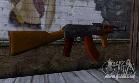 Romanian AKM pour GTA San Andreas deuxième écran