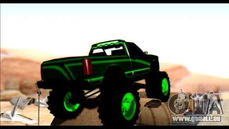 City Destroyer v2 pour GTA San Andreas sur la vue arrière gauche
