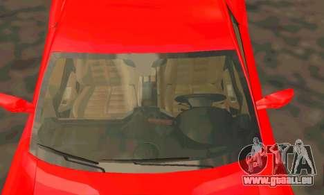 Ferrari 599 Beta v1.1 pour GTA San Andreas vue arrière