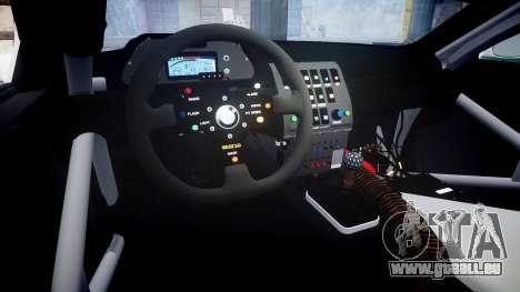 BMW M3 E46 GTR Most Wanted plate Liberty City pour GTA 4 est une vue de l'intérieur