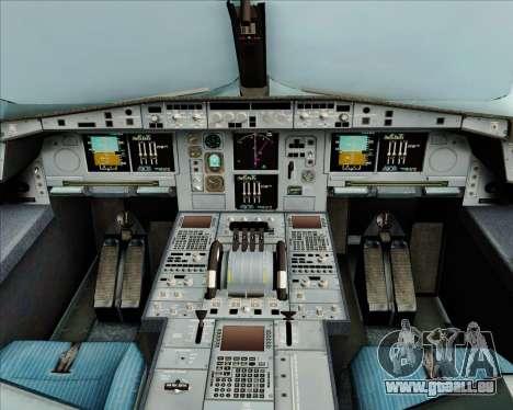 Airbus A380-800 Air Canada für GTA San Andreas Innen