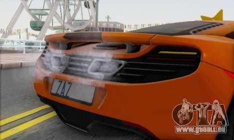 McLaren MP4-12C Gawai v1.4 für GTA San Andreas zurück linke Ansicht