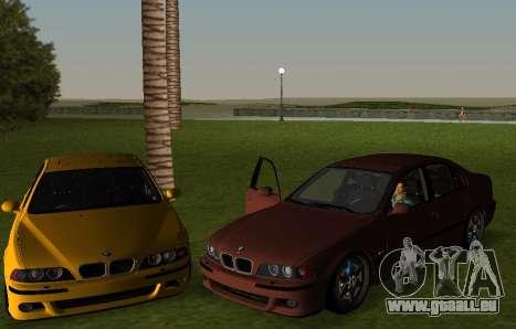 BMW M5 E39 pour une vue GTA Vice City de la gauche