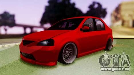 Dacia Logan Kys für GTA San Andreas