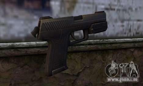 MK23 pour GTA San Andreas deuxième écran