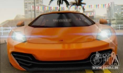 McLaren MP4-12C Gawai v1.4 für GTA San Andreas rechten Ansicht