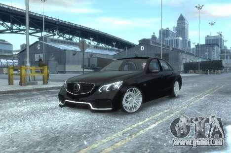 Mercedes-Benz E63 BRABUS 850 für GTA 4 linke Ansicht