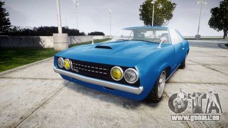 GTA V Declasse Vigero pour GTA 4