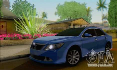 Toyota Aurion pour GTA San Andreas
