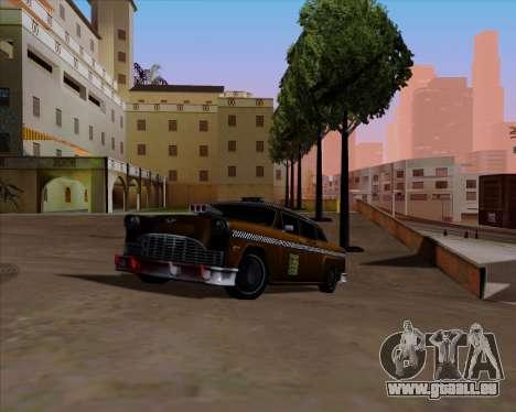Borgnine pour GTA San Andreas vue intérieure