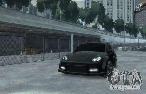 Porsche Cayenne 2012 GT pour GTA 4 est un droit