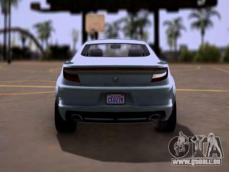 GTA V Ocelot Jackal für GTA San Andreas rechten Ansicht