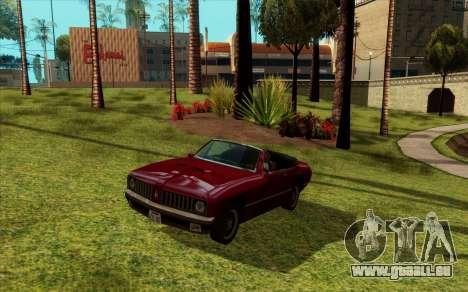ENB pour de faibles PC (SAMP) pour GTA San Andreas deuxième écran