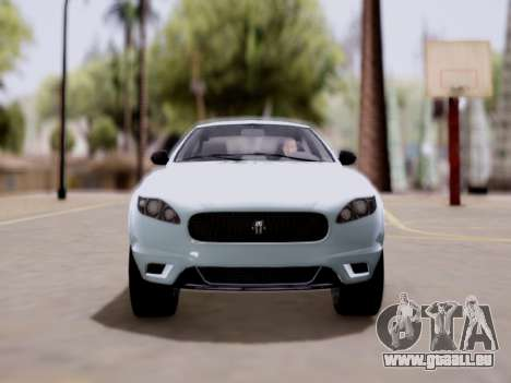 GTA V Ocelot Jackal für GTA San Andreas zurück linke Ansicht