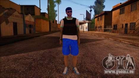 GTA 5 Online Skin 15 pour GTA San Andreas