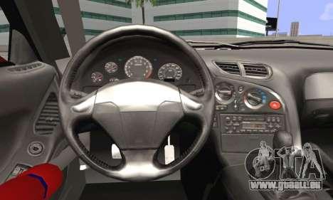 Mazda RX-7 Fail Crew für GTA San Andreas zurück linke Ansicht