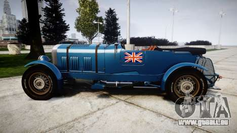 Bentley Blower 4.5 Litre Supercharged [high] pour GTA 4 est une gauche
