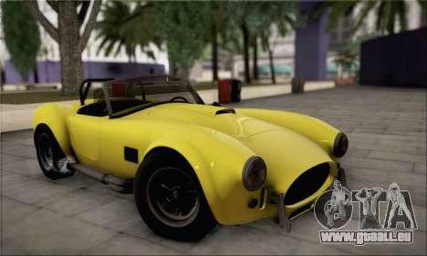 Shelby Cobra V10 TT Black Revel für GTA San Andreas Seitenansicht