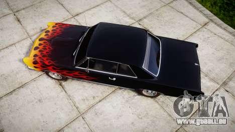 Pontiac GTO 1965 Flames für GTA 4 rechte Ansicht