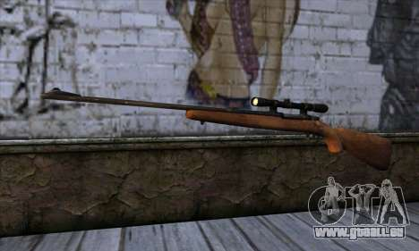 Sniper Rifle from The Walking Dead pour GTA San Andreas