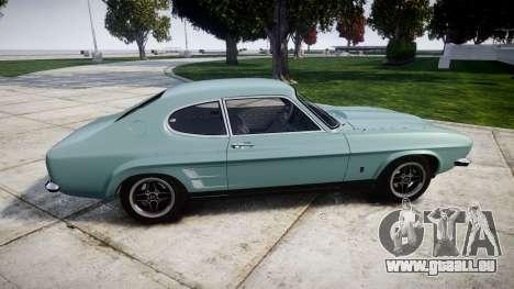 Ford Capri GT Mk1 pour GTA 4 est une gauche