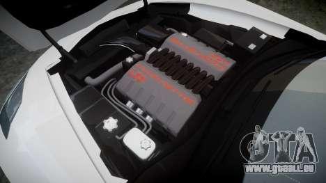 Chevrolet Corvette C7 Stingray 2014 v2.0 TireMi3 pour GTA 4 est un côté