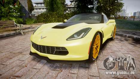 Chevrolet Corvette Z06 2015 TireGY pour GTA 4