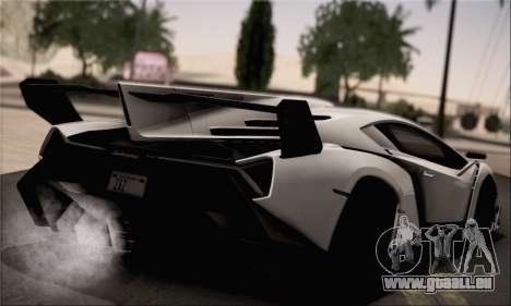 Lamborghini Veneno LP750-4 White Black 2014 HQLM für GTA San Andreas linke Ansicht