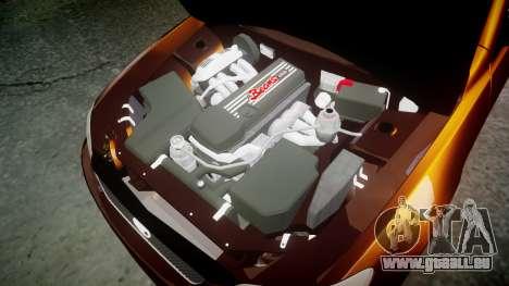 Toyota Altezza für GTA 4 Innenansicht