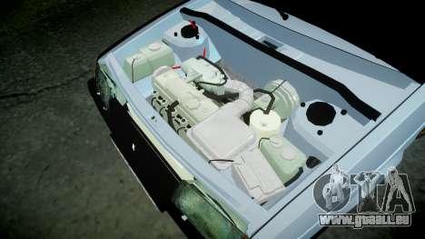 MIT-2109 hobo für GTA 4 Innenansicht