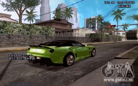 Des graphismes améliorés pour les moyennes et le pour GTA San Andreas