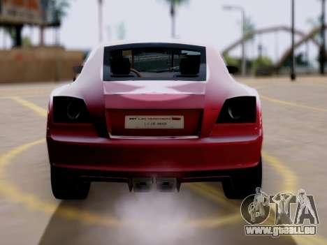 GTA 5 Fusilade pour GTA San Andreas sur la vue arrière gauche