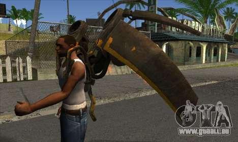 Jetpack from Batman Arkham Origins für GTA San Andreas zweiten Screenshot