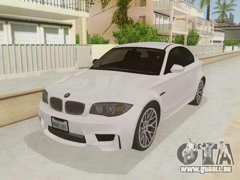 BMW 1M 2011 pour GTA San Andreas