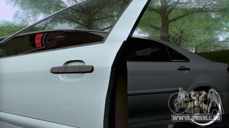 Toyota Vios Extreme Edition pour GTA San Andreas vue arrière