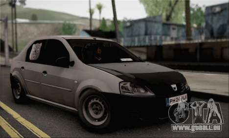 Dacia Logan 2009 für GTA San Andreas
