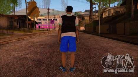 GTA 5 Online Skin 15 pour GTA San Andreas deuxième écran
