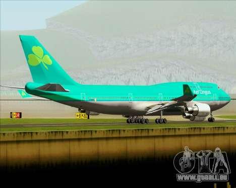 Boeing 747-400 Aer Lingus für GTA San Andreas Unteransicht