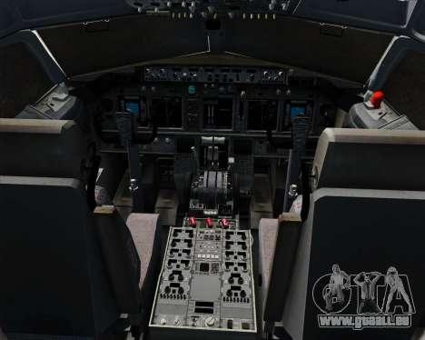 Boeing 737-800 Southwest Airlines für GTA San Andreas Innen